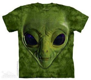 tricou-green-alien-face