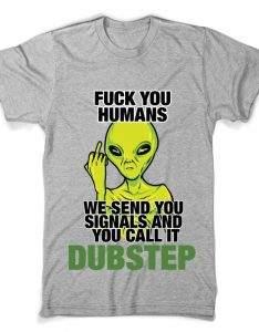 tricou-dubstep-alien-grey